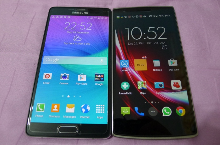 Note 4 and OnesPlus One