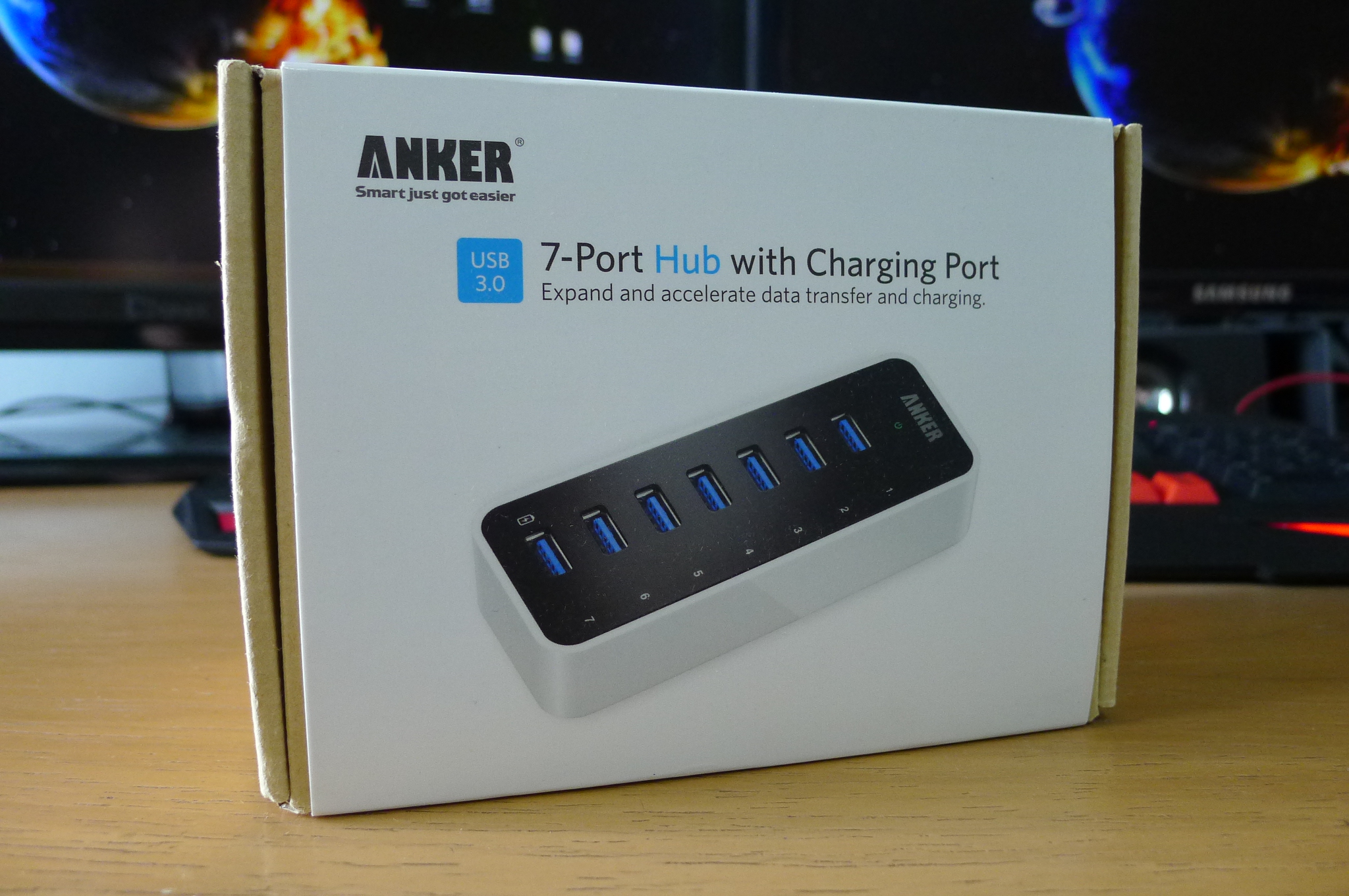 Anker USB 3.0 7-Port Hub Review! (Charger Doctor)
